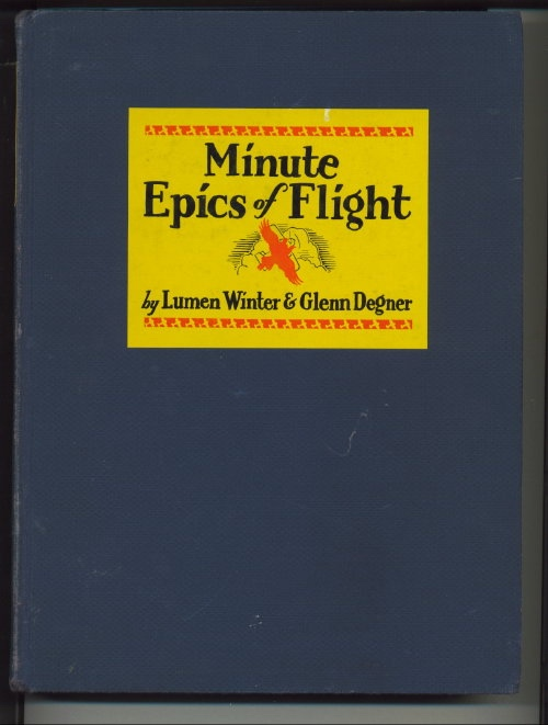 Image for Minute Epics Of Flight