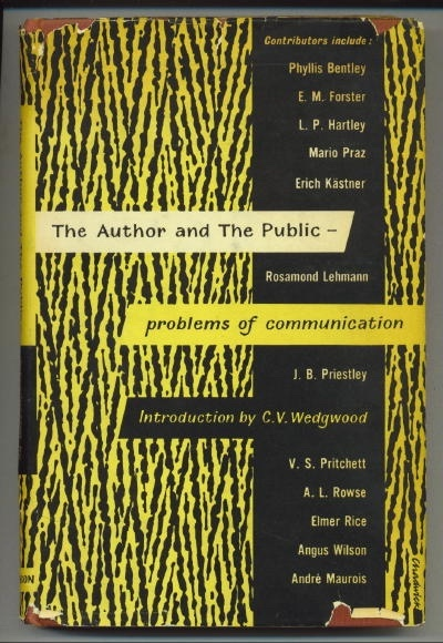 Image for The Author And The Public:  Problems of Communication