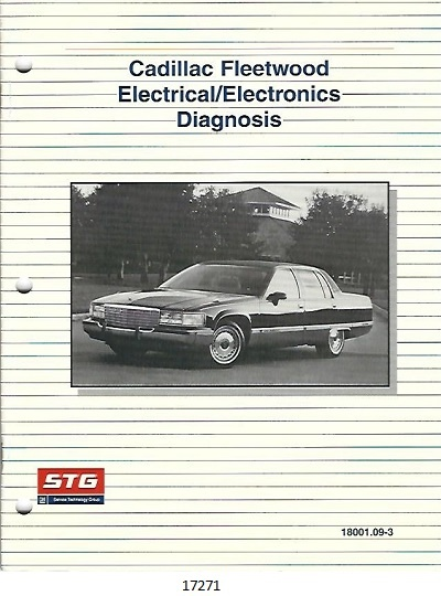 Image for Cadillac Fleetwood Electrical/electronics Diagnosis #18001.09-3