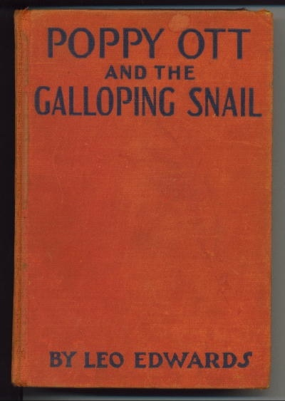 Image for Poppy Ott, And The Galloping Snail