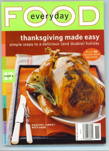 Image for Everyday Food Issue 17, November 2004 Thanksgiving Made Easy