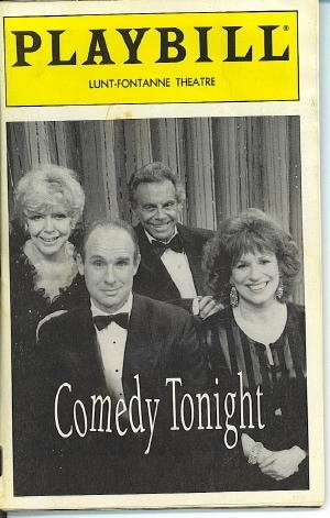 Image for Playbill: Comedy Tonight