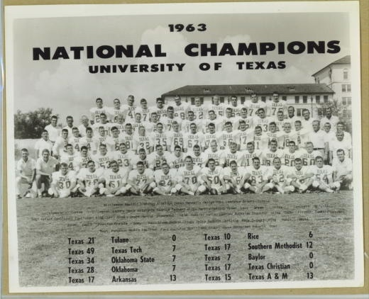 Image for 1963 National Champions: University Of Texas