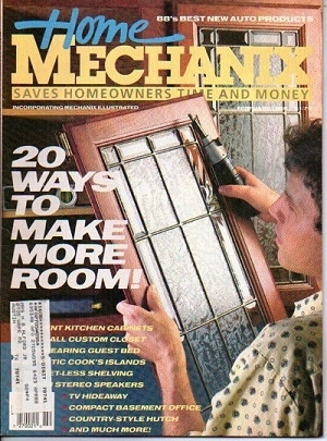 Image for Home Mechanix, February, 1988, Vol.84 No. 718, 20 Ways To Make More Room Saves Homeowners Time and Money -- Incorporating Mechanix Illustrated