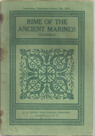 Image for Rime Of The Ancient Mariner , Instructor Literature Series