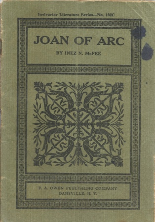Image for Joan Of Arc , Instructor Literature Series