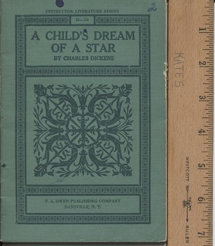 Image for A Child's Dream Of A Star , Instructor Literature Series