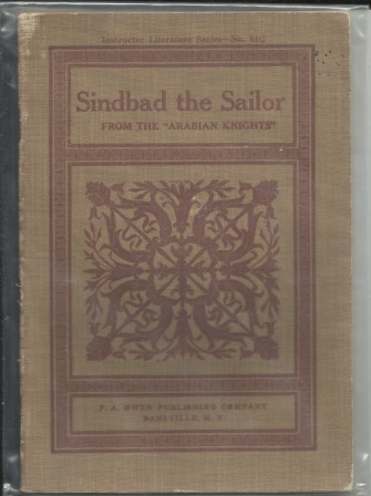 Image for Sindbad (sinbad) The Sailor, From The Arabian Knights , Instructor Literature Series