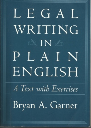 Image for Legal Writing In Plain English A Text with Exercises