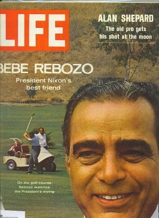Image for Life Magazine, July 31, 1970 Bebe Rebozo, President Nixon's Best Friend