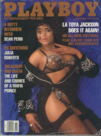 Image for Playboy Magazine, Entertainment For Men, November 1991, La Toya Jackson