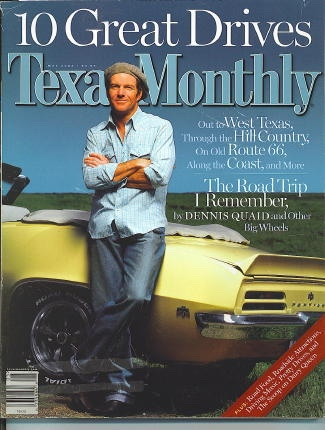 Image for Texas Monthly, May 2002 Dennis Quaid