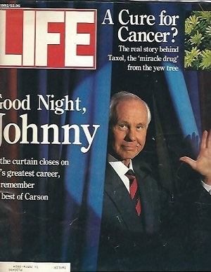 Image for Life Magazine, May 1992 Good Night, Johnny