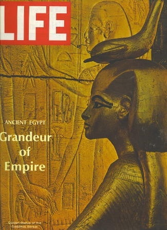 Image for Life Magazine, May 31, 1968 Grandeur of Empire: Ancient Egypt; Cover - Photo of Golden Statue of the Goddess Serket