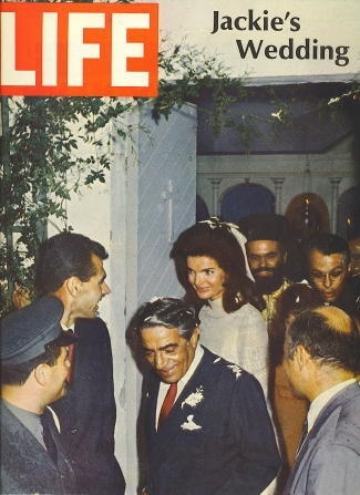 Image for Life Magazine, November 1, 1968 Jackie Kennedy & Aristotle Onassis Wedding