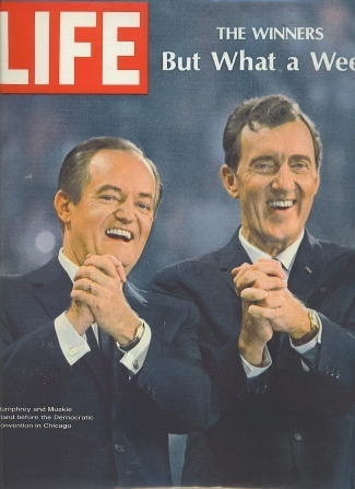 Image for Life Magazine, September 6, 1968 The Winners, but What a Week