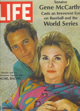 Image for Life Magazine, October 18 1968 Paul Newman and Joanne Woodward from the Movie Rachel, Rachel