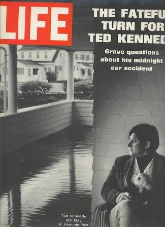 Image for Life Magazine, August 1, 1969 The Fateful Turn for Ted Kennedy