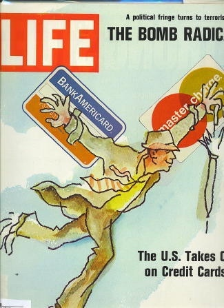 Image for Life Magazine, March 27, 1970 The U. S. Takes off on Credit Cards