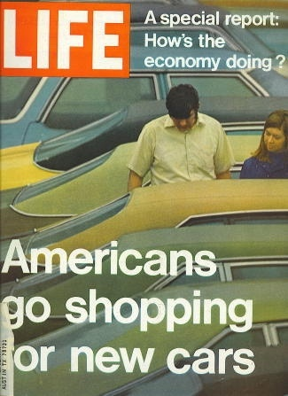 Image for Life Magazine, Octonber 8, 1971 Americans Go Shopping for New Cars