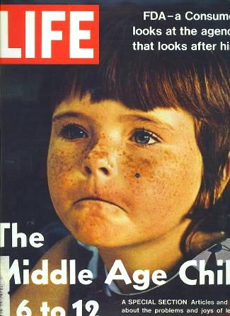 Image for Life Magazine - October 20, 1972, Vol. 73, No. 16, the Middle Age Child - 6 to 12