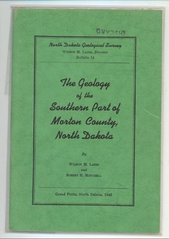Image for The Geology Of The Southern Part Of Morton County, North Dakota