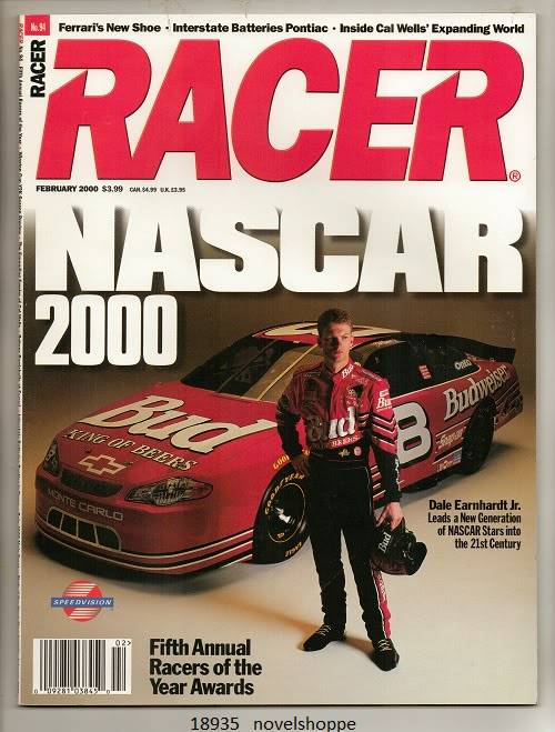 Image for Racer Magazine, February 2000 Nascar 2000, Fifth Annual Racers of the Year
