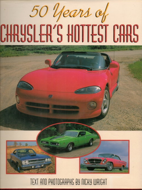 Image for 50 Years Of Chrysler's Hottest Cars