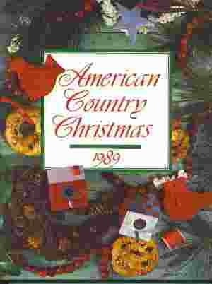 Image for AMERICAN COUNTRY CHRISTMAS 1989