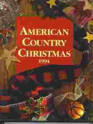 Image for American Country Christmas 1994