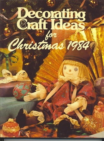 Image for DECORATING AND CRAFT IDEAS FOR CHRISTMAS 1984