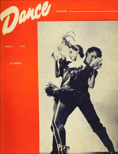 Image for Dance Magazine, March 1950 Volume XXIV, Number 3