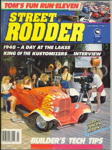 Image for Street Rodder Magazine, Tom's Fun Run Eleven July 1988