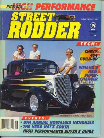 Image for Street Rodder Magazine, Special Issue: High Performance August 1988