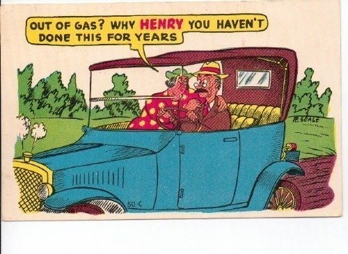 Image for Out Of Gas? Why Henry You Haven't Done This For Years