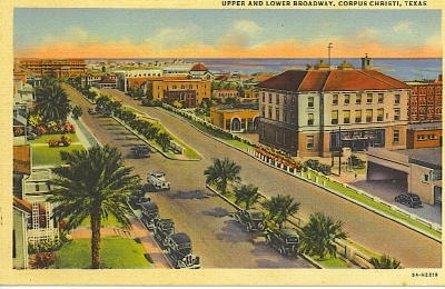 Image for Upper And Lower Broadway, Corpus Christi, Texas