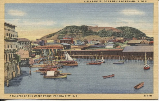 Image for A Glimpse Of The Water Front [Panama]