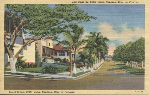 Image for Street Scene, Bella Vista [Panama]