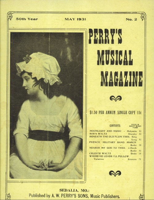 Image for Perry's Musical Magazine, May 1931