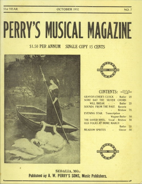Image for Perry's Musical Magazine, October 1932, No. 7