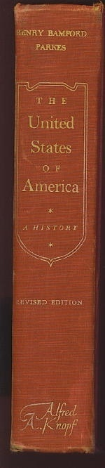 Image for The United States Of America A History