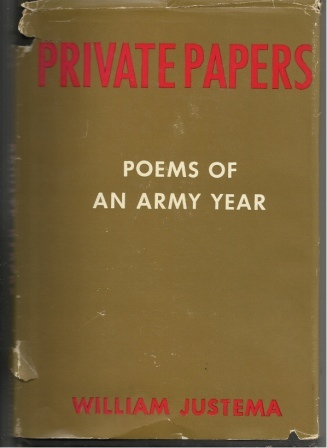 Image for Private Papers: Poems Of An Army Year
