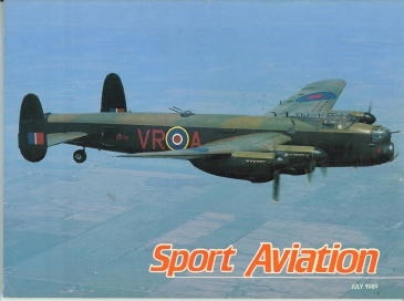 Image for Sport Aviation, July 1989