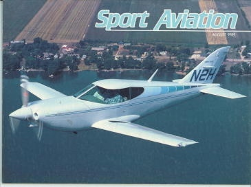 Image for Sport Aviation, August 1989