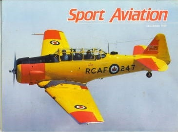 Image for Sport Aviation, December 1989