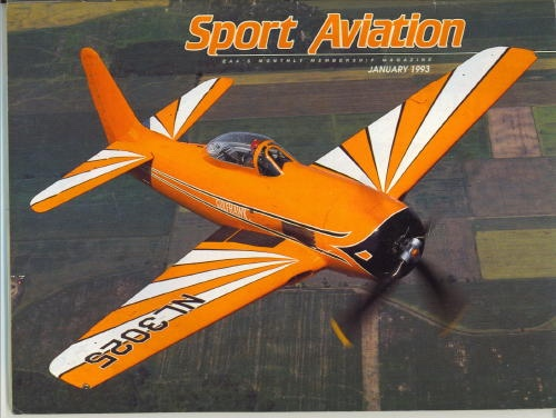 Image for Sport Aviation, January 1993