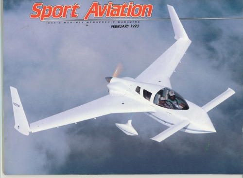 Image for Sport Aviation, February 1993