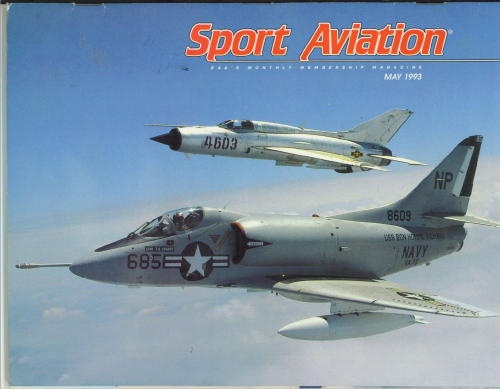 Image for Sport Aviation, May 1993