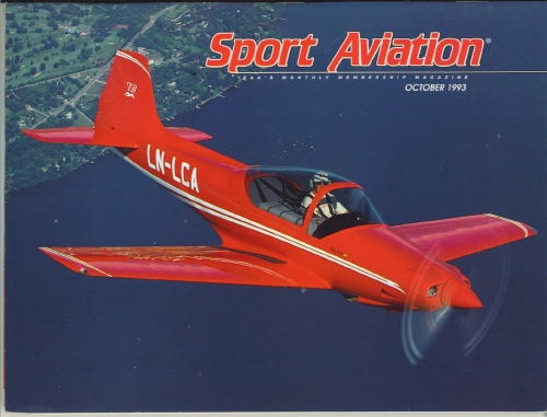 Image for Sport Aviation, October 1993