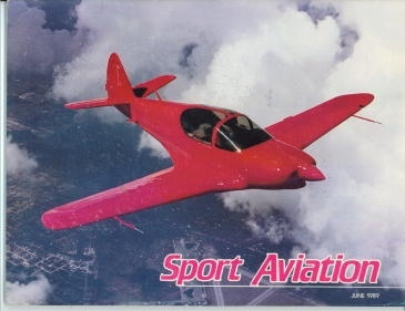 Image for Sport Aviation, June 1989